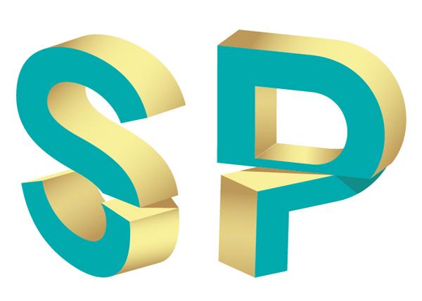 Make 3D Split Text Vector Effect in Adobe Illustrator
