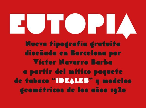 Eutopia Free Font