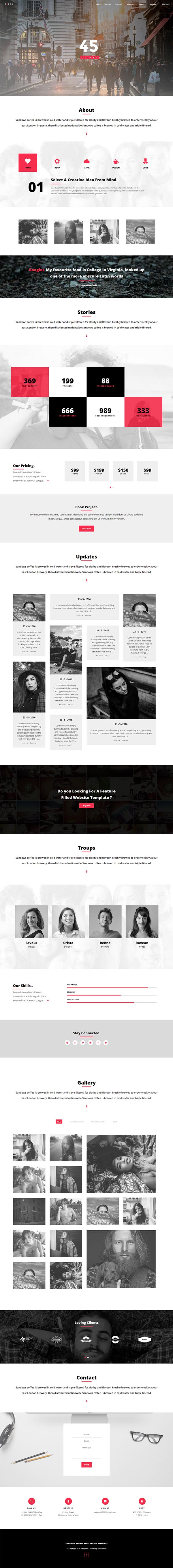 Ogden : Creative Multi style WordPress Theme
