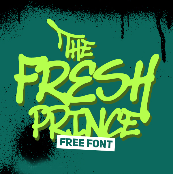 The Fresh Prince Free Font