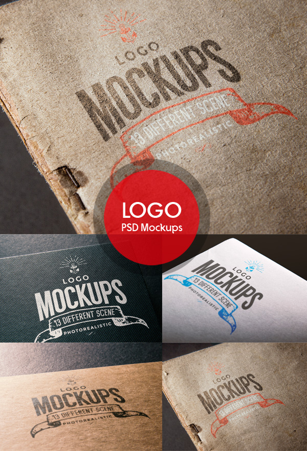 Free Logo MockUps