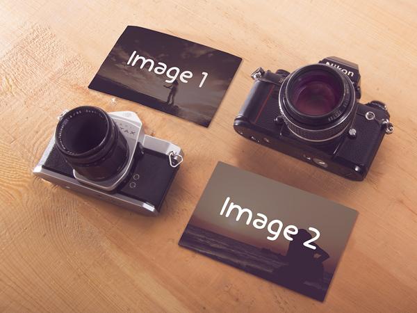 Free Camera Mockups