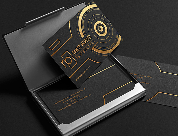 Randy Parker Photography Business card