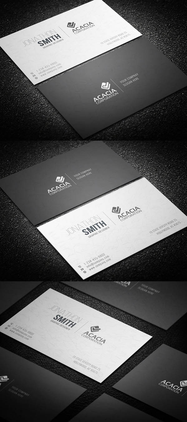 Simple and Elegant Business Card-02