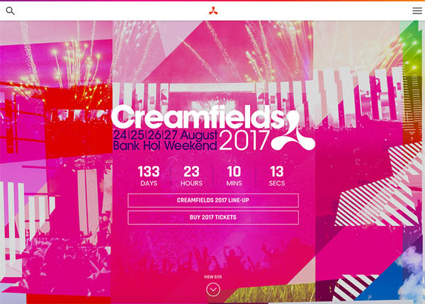 Creamfields by Corporation Pop