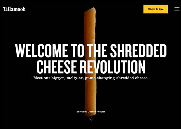 The Shredded Cheese Revolution by Hello Design