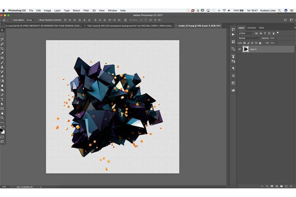 FREE Abstract 3D Shapes for download - 3
