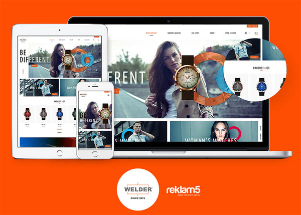 Welder Watch Web Site by Reklam5 Digital Agency