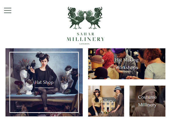 Sahar Millinery by SquareSocket