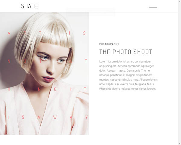 Shade - An Alluring Photography Theme