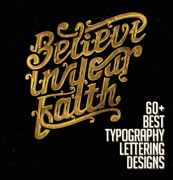 Best lettering typography designs