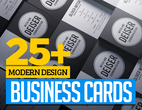 Modern Business Cards Templates