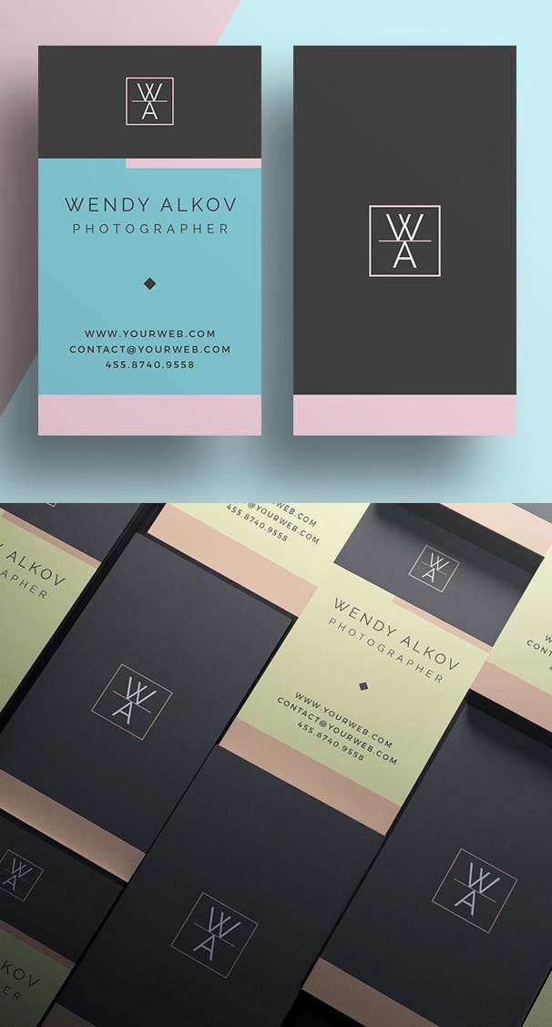 Minimal Stylish Business Card Template