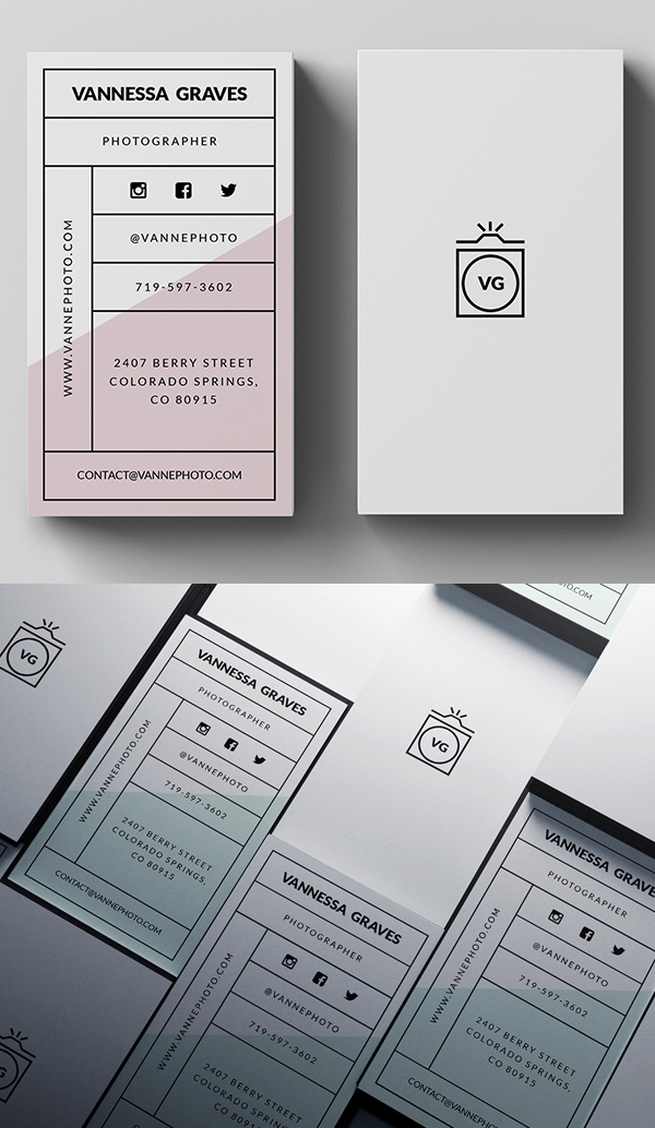 Simple Business Card PSD Template