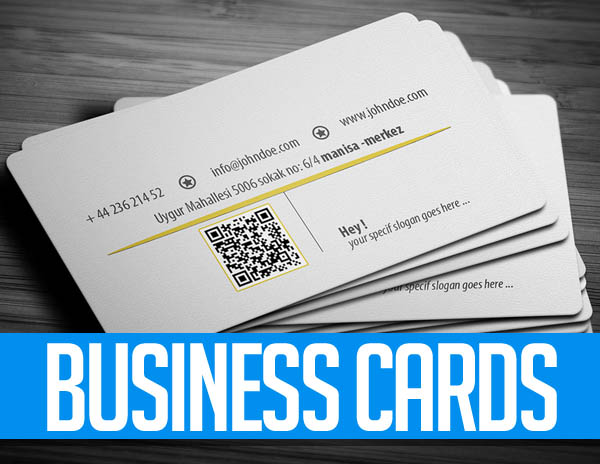 27+ Simple Clean Business Card Templates