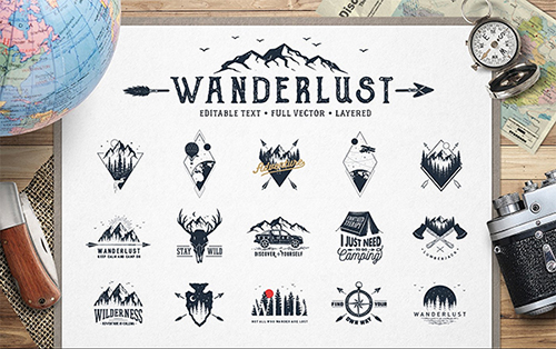 Wanderlust Exposure Logos