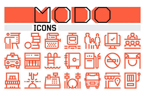 Modo Icons Collection