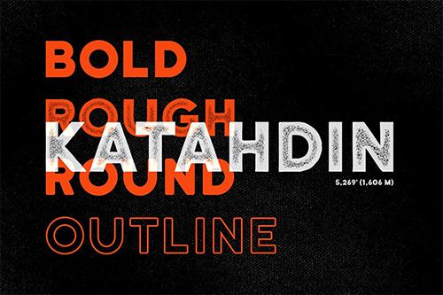 Katahdin Bold - Clean, Rough, More