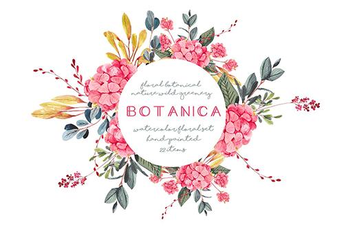 Botanica - watercolor set