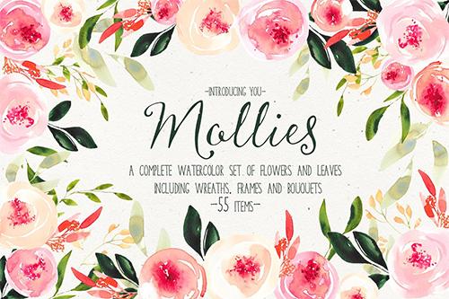 Mollies Watercolor Set