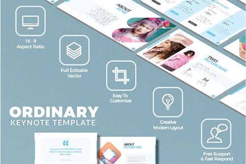 Ordinary Presentation Templates