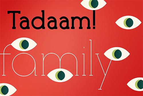 Tadaam Family Fonts