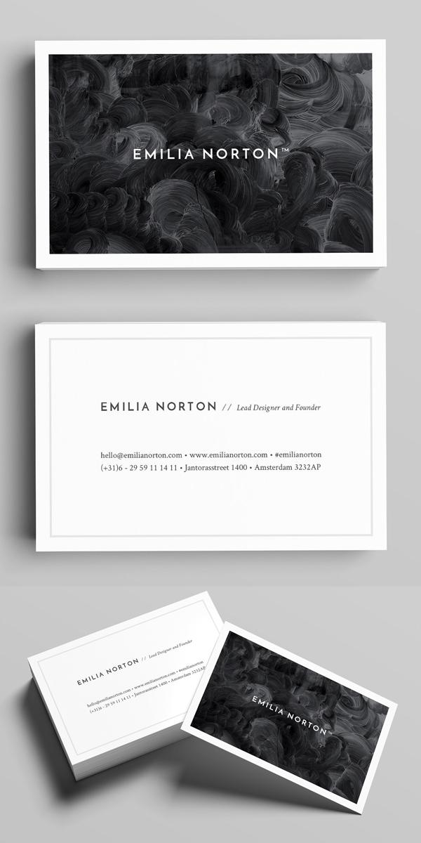 Norton Business Card Template