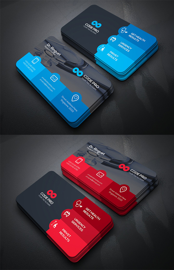 Medical Doctor Business Card Template