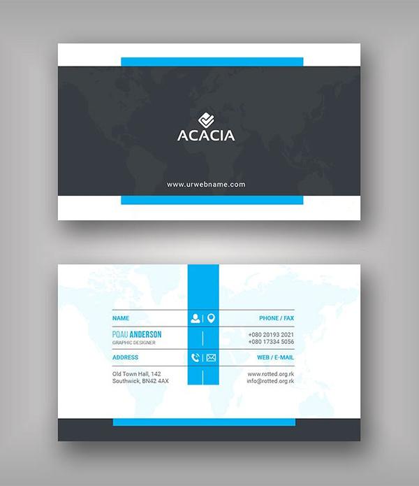 Khel Business Card Template