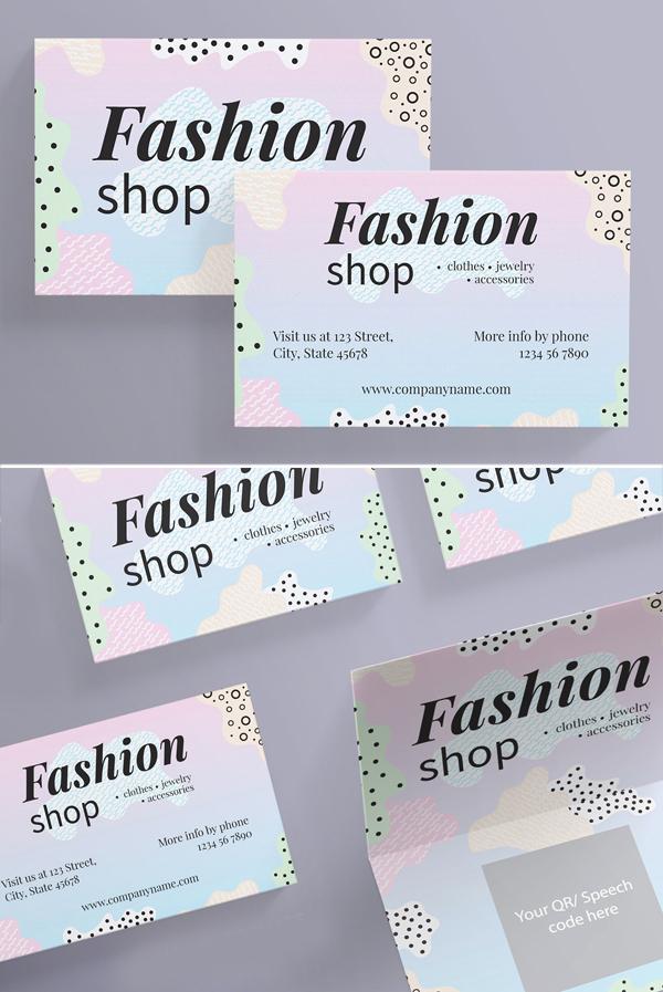 Business Cards   Fashion Shop