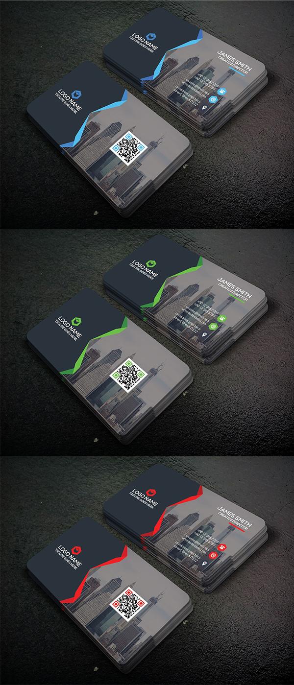 Clean & Creative business card Template