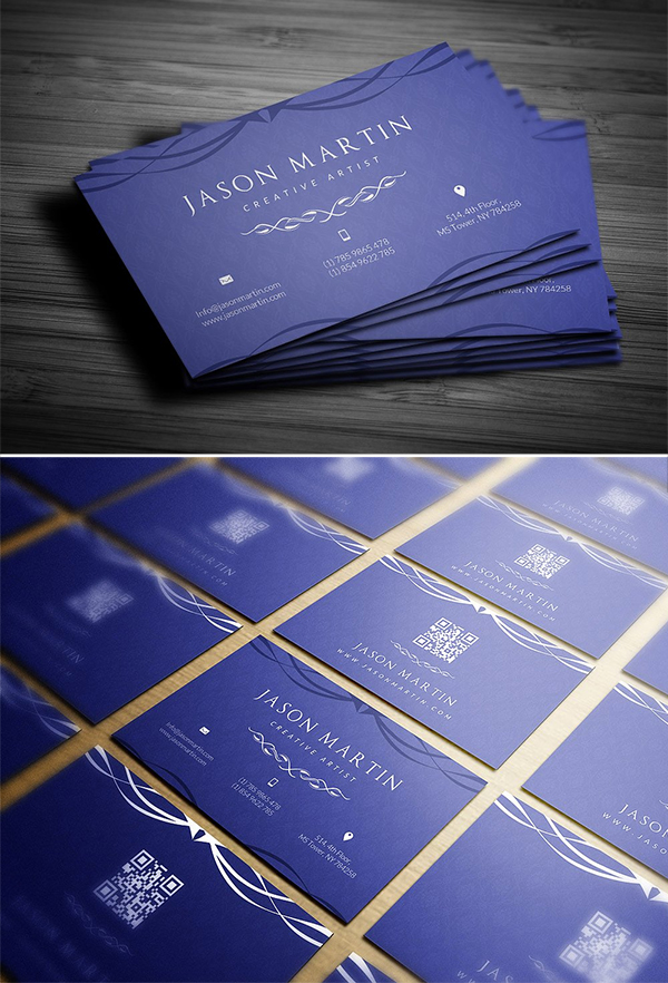 Perfect Business Cards Template Design