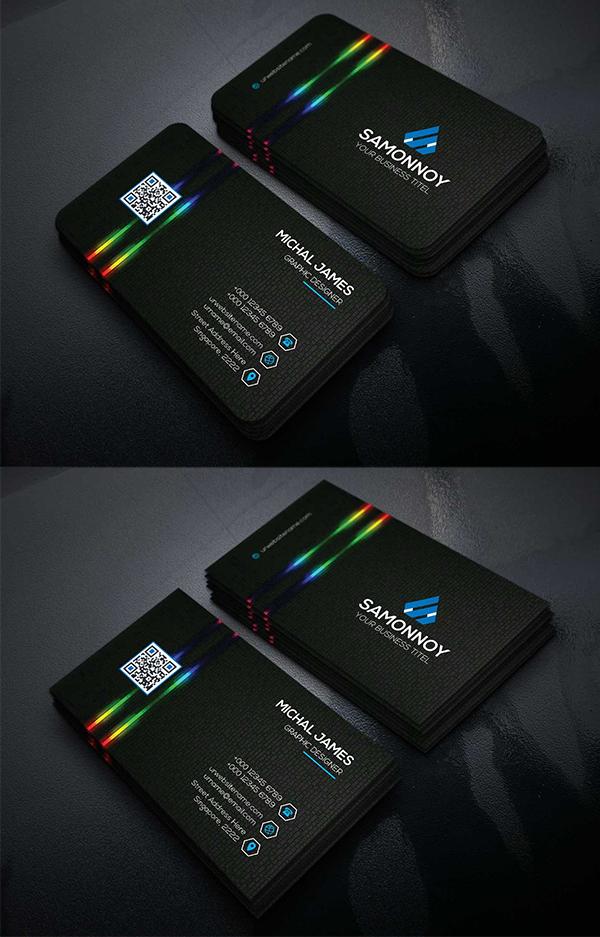 Corporate Business Cards Template Design