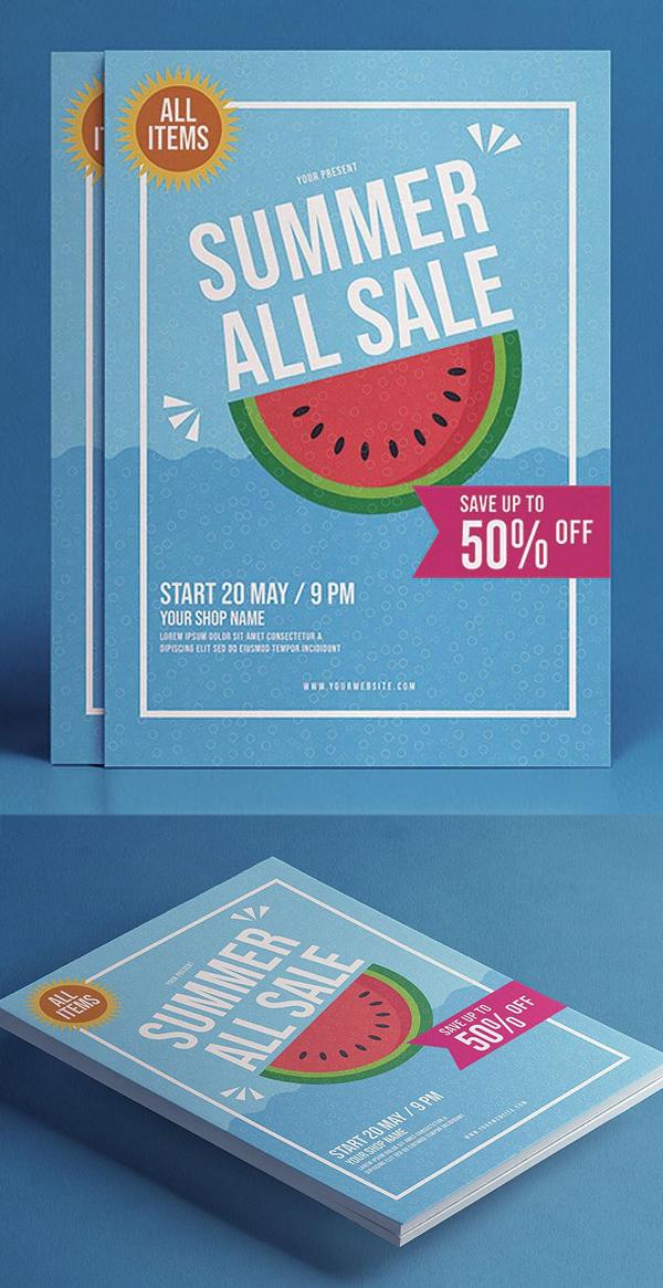 Summer All Sale flyer