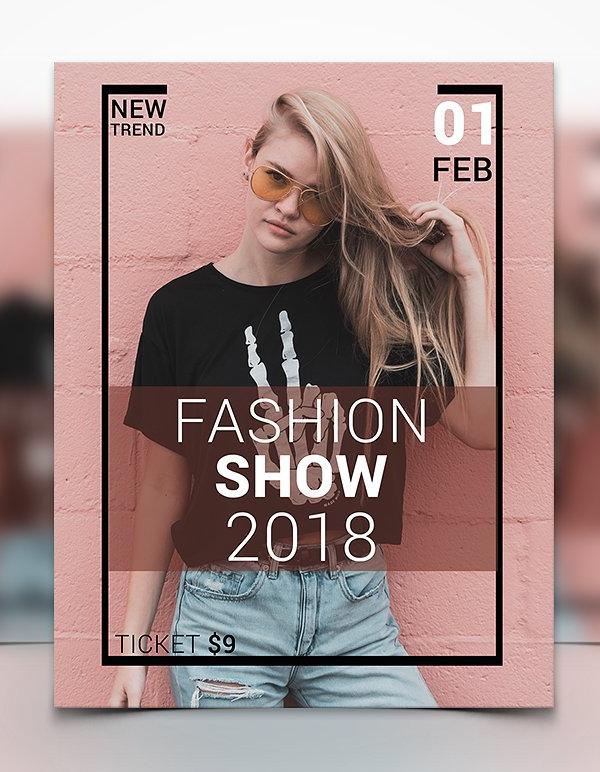 Fashion Show Flyer Design