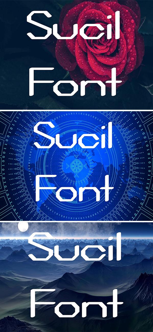 Sucil Font