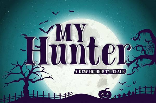 My Hunter Font
