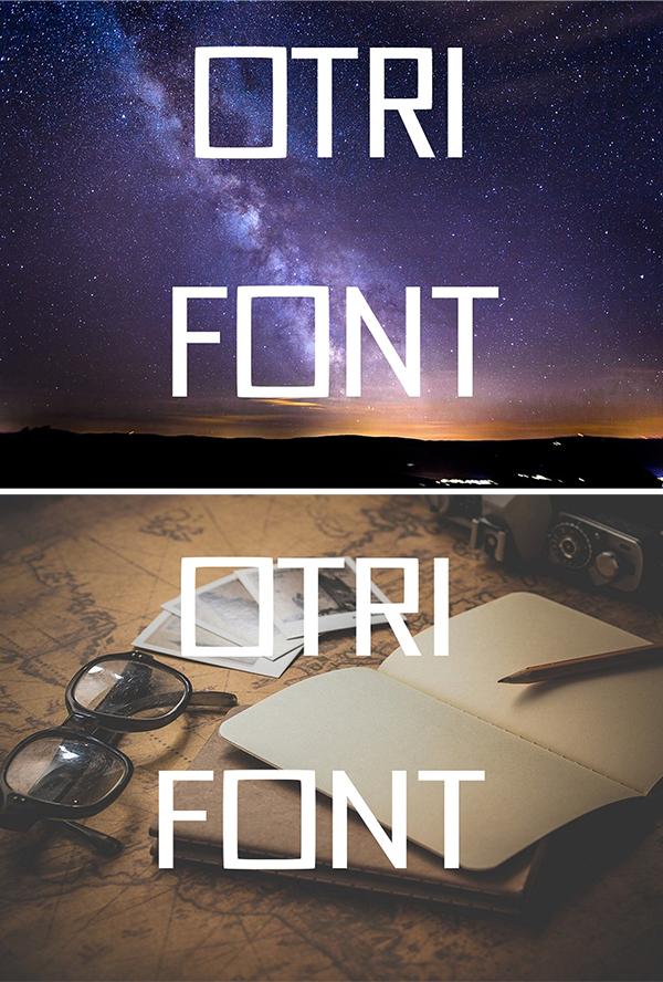 Elegant Otri Font
