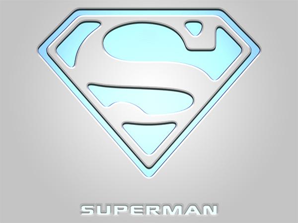 Superman Light Logo Design