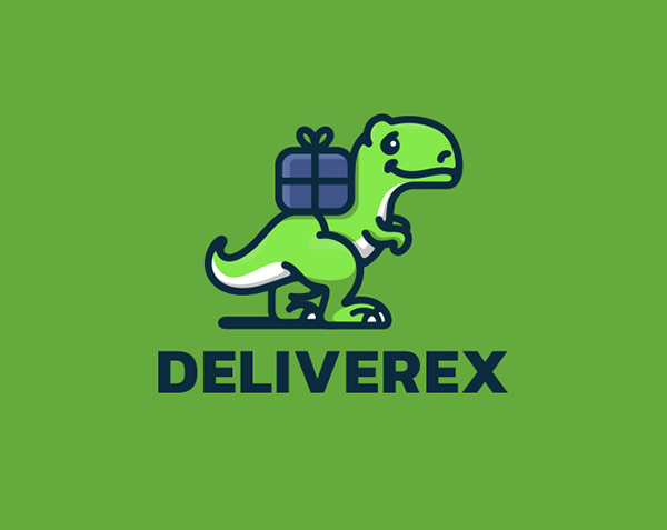 Deliverex Logo Design