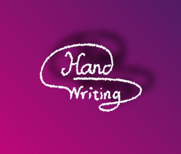 Hand Writing Logo
