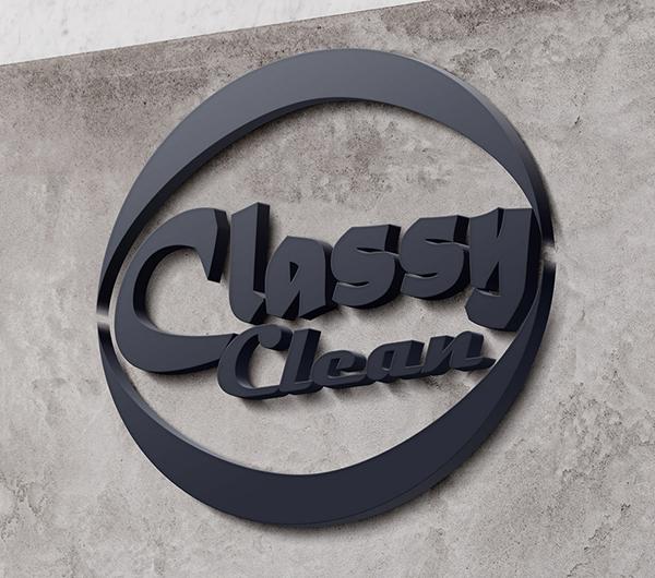 Classy Clean Logo Design