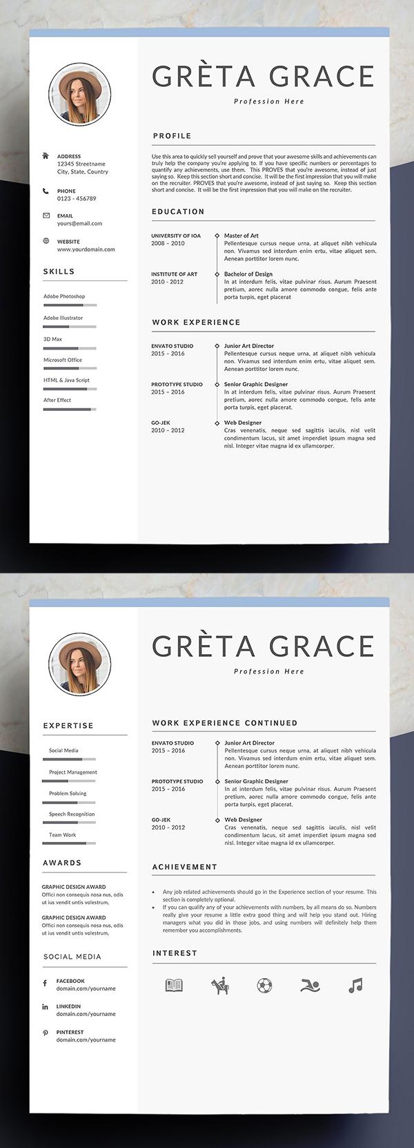 Professional Resume Template | Clove