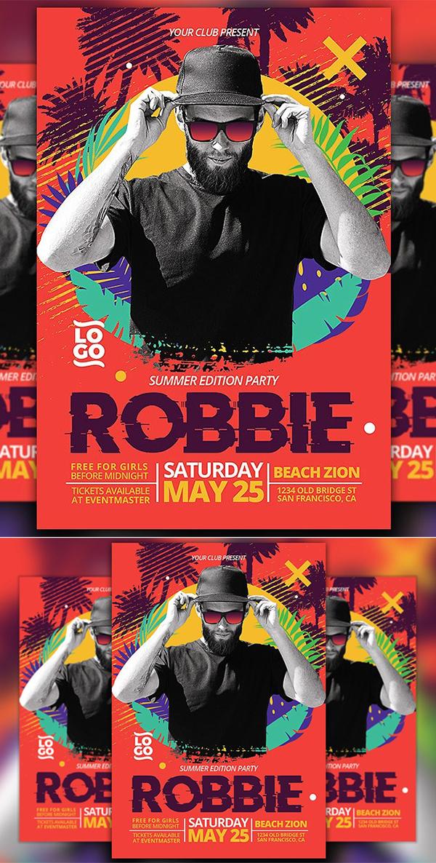 Club DJ Summer Edition Flyer