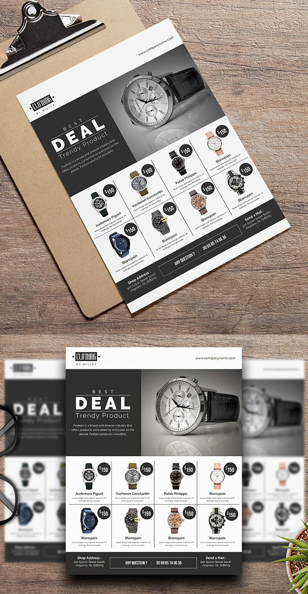 Product Sale Flyer Template