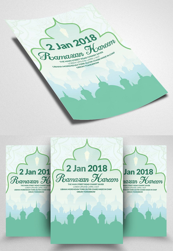 Ramadan Kareem Religious Flyer