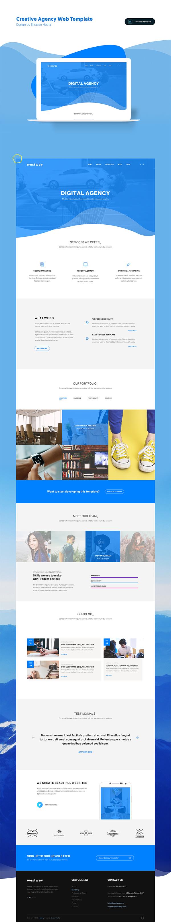 Creative Web Template