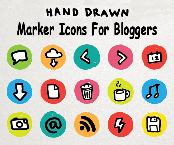 creative+marker+icons