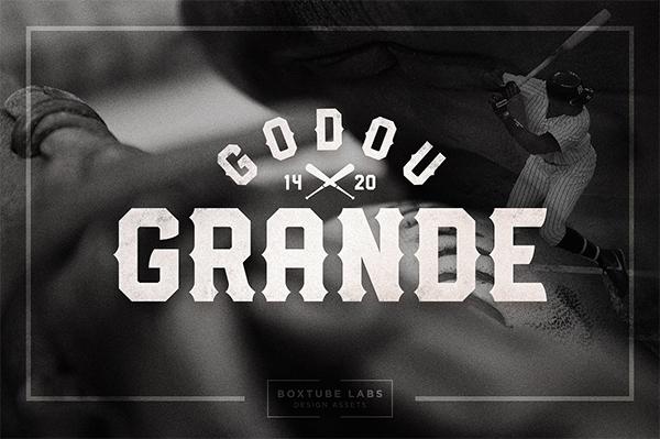Godou Grande Font