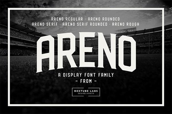Areno Family Font